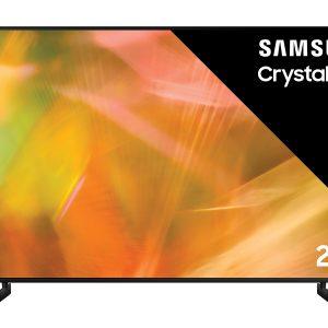 Samsung UE75AU8070U UHD TV Zwart