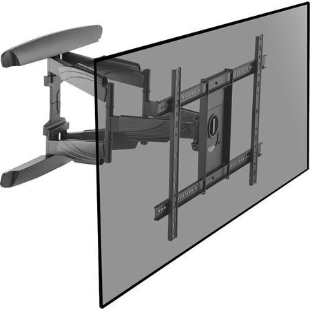 Cavus muursteun dubbele arm 37-70 inch