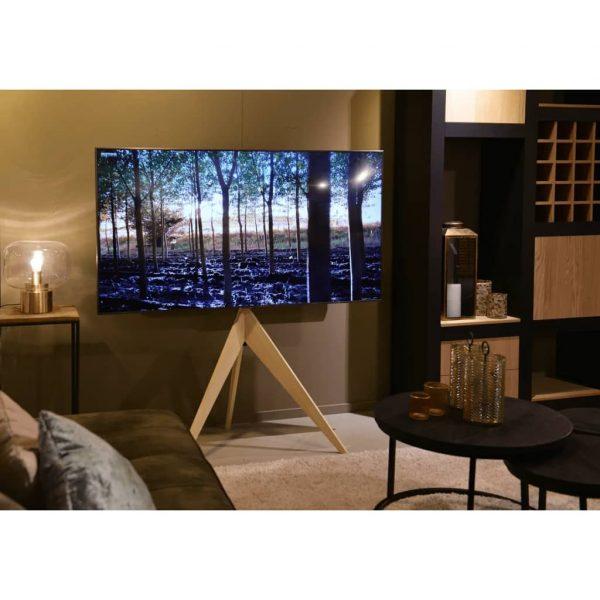 "Xtrarm Argo Tripod Tv Standaard Beukenhout 32-65"" Vesa400 X 400 40 Kg"
