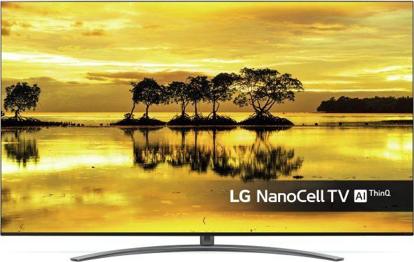 LG 49SM9000PLA 4K Ultra HD-tv + beugel