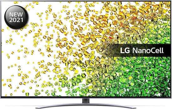 LG 50NANO886 (2021) 4K Ultra HD-tv + beugel
