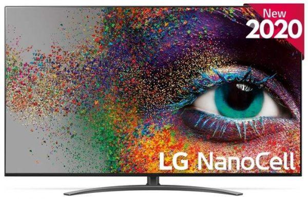LG 55NANO916 4K Ultra HD-tv + beugel
