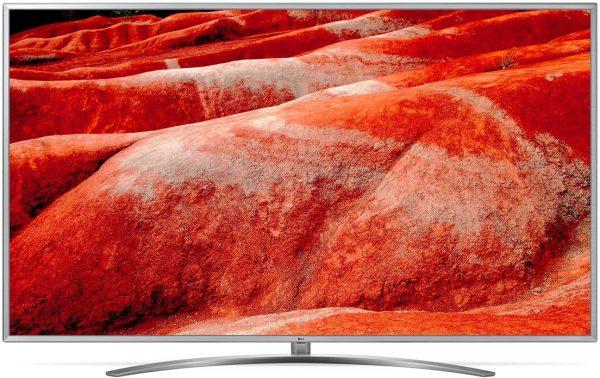 LG 75UM7600PLB 4K Ultra HD-tv + beugel