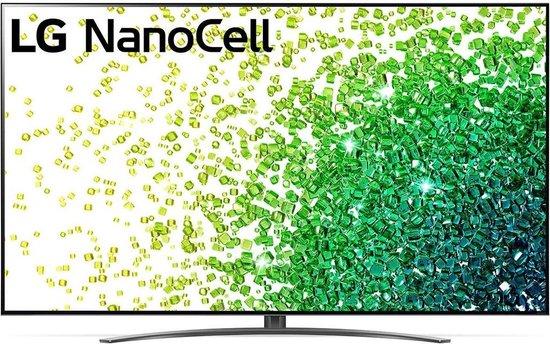 LG 86NANO866PA (2021) 4K Ultra HD-tv + beugel