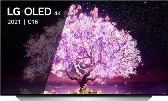 LG OLED48C16LA OLED-TV + beugel