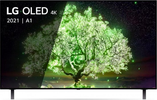 LG OLED55A16LA OLED-TV + beugel
