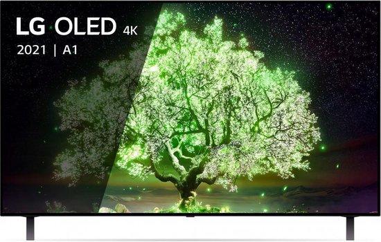 LG OLED65A16LA OLED-TV + beugel