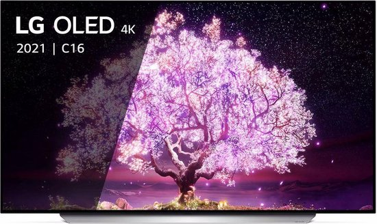 LG OLED77C16LA (2021) OLED-TV + beugel