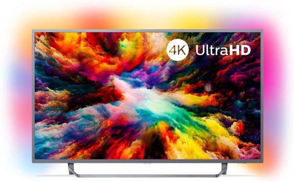 Philips 43PUS7303/12 4K Ultra HD-tv + beugel