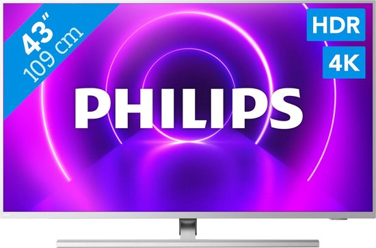 Philips 43PUS8505/12 4K Ultra HD-tv + beugel