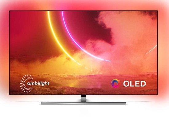 Philips 65OLED855/12 OLED-TV + beugel