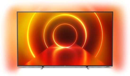 Philips 70PUS7805/12 4K Ultra HD-tv + beugel