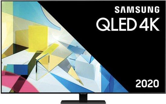 Samsung QE50Q80T (2020) QLED-TV + beugel