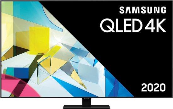 Samsung QE55Q80T (2020) QLED-TV + beugel