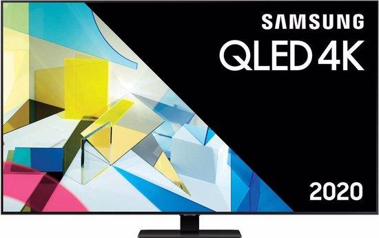 Samsung QE65Q80T (2020) QLED-TV + beugel