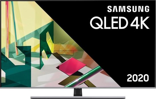 Samsung QE75Q77T QLED-TV + beugel