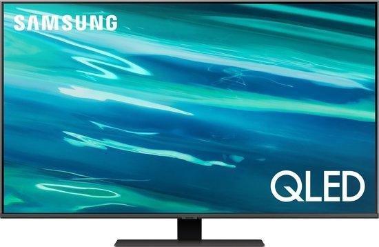 Samsung QE75Q80A (2021) QLED-TV + beugel