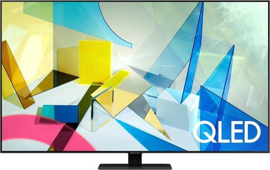 Samsung QE75Q80T (2020) QLED-TV + beugel