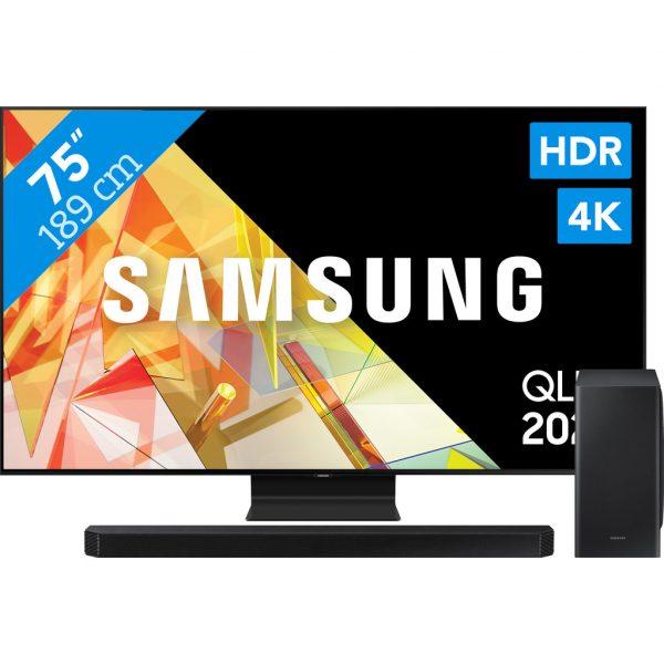 Samsung QLED 75Q95T + Soundbar