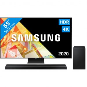 Samsung QLED QE55Q95TC (2020) + Soundbar