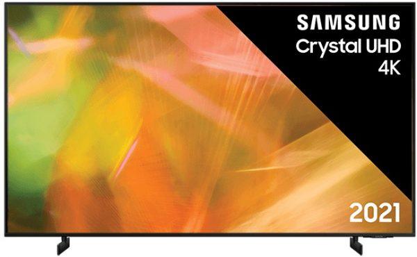 Samsung UE55AU8070 (2021) 4K Ultra HD-tv + beugel