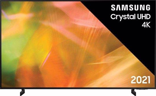 Samsung UE75AU8070 (2021) 4K Ultra HD-tv + beugel