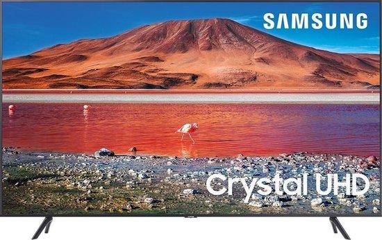 Samsung UE75TU7100 (2020) 4K Ultra HD-tv + beugel