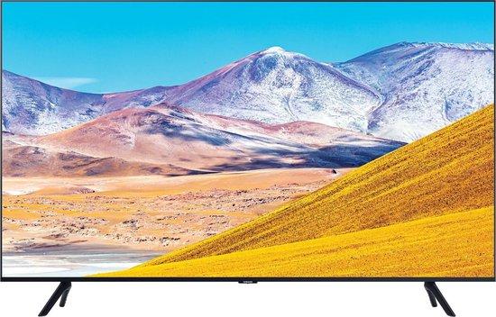 Samsung UE82TU8000 (2020) 4K Ultra HD-tv + beugel