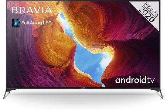 Sony KD-75XH9505 4K Ultra HD-tv + beugel