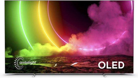 Philips 77OLED806/12 (2021) OLED-TV + beugel